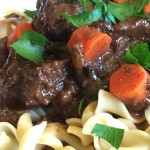 Beef with Red Wine and Prunes