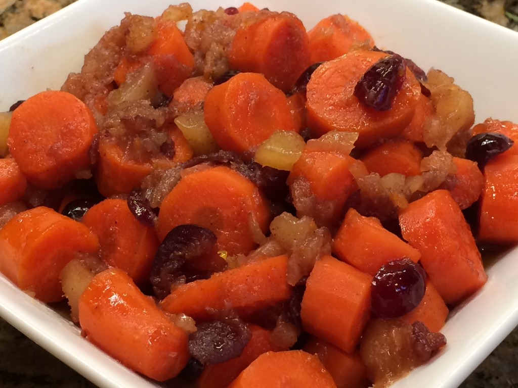 Pineapple Cranberry Carrots