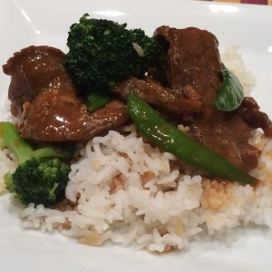 Beef and Broccoli with Snow Peas
