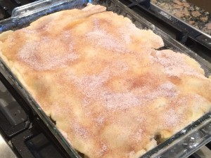 Flat Apple Pie