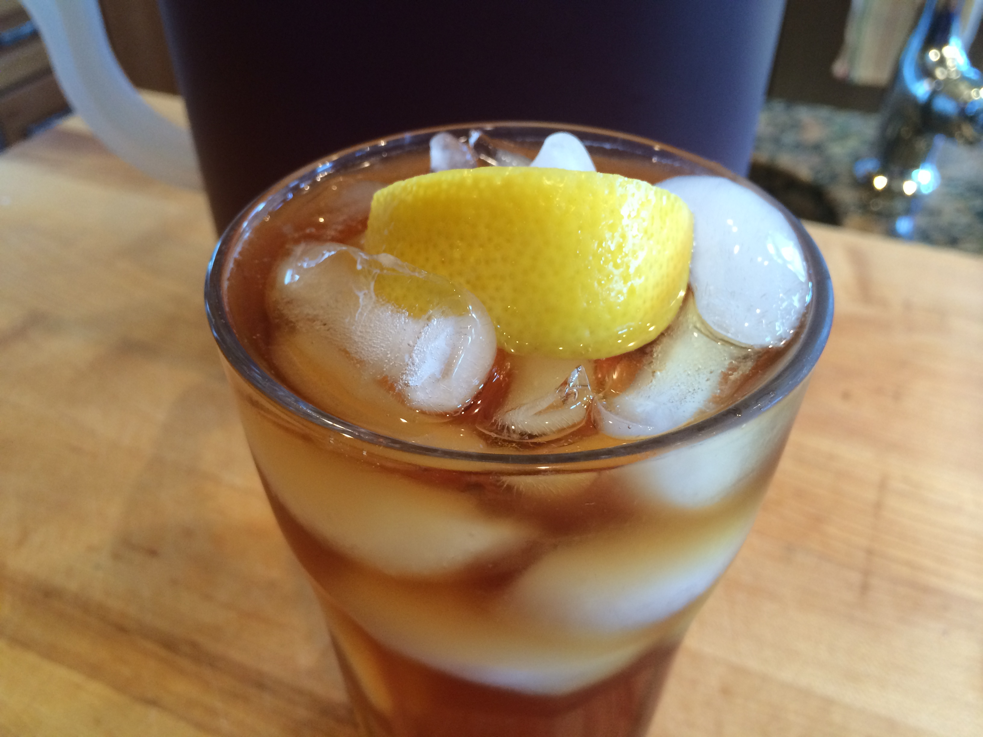 Sweet Tea (with Lemon)