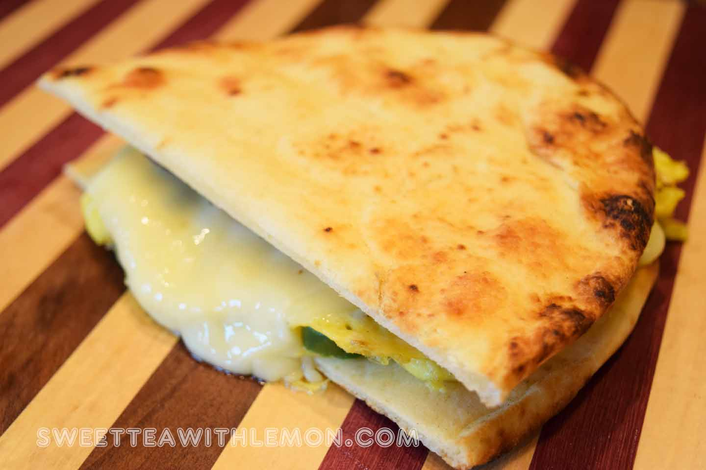 Naan Breakfast Sandwich