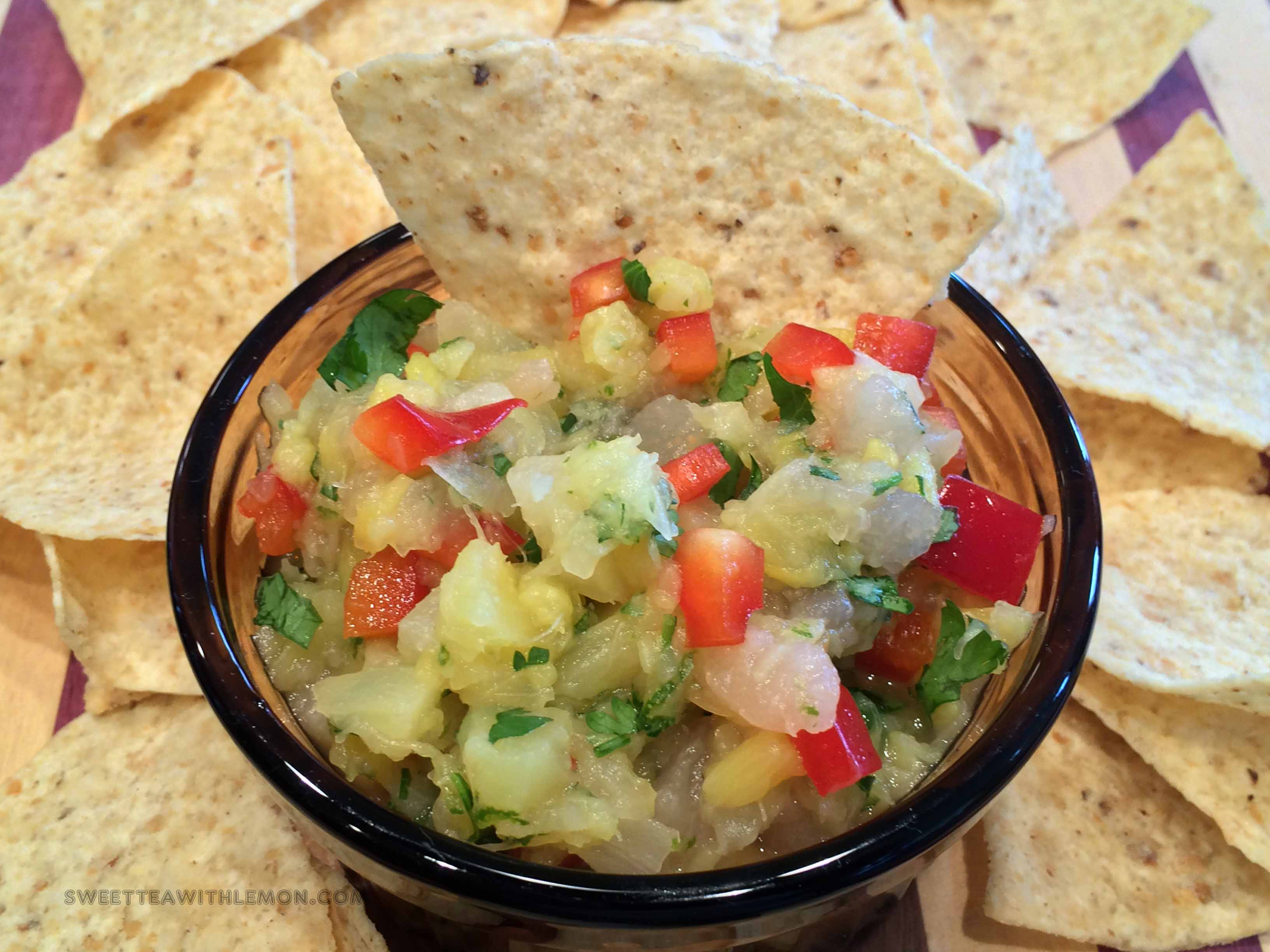 Pineapple Pear Salsa