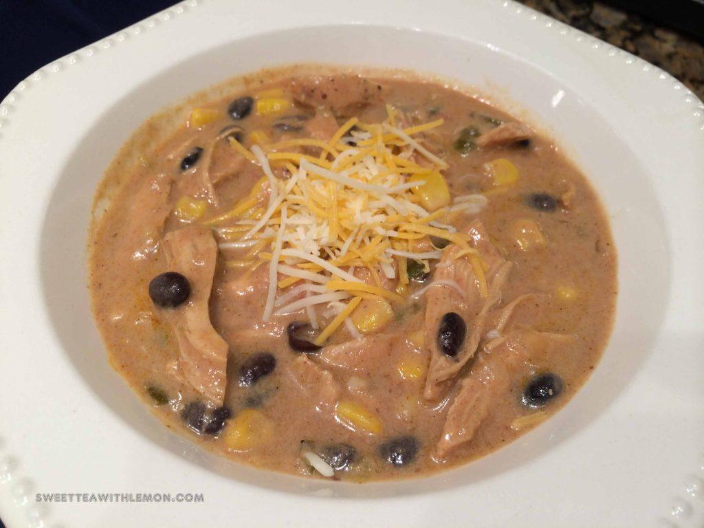 Chicken Enchilada Soup B22