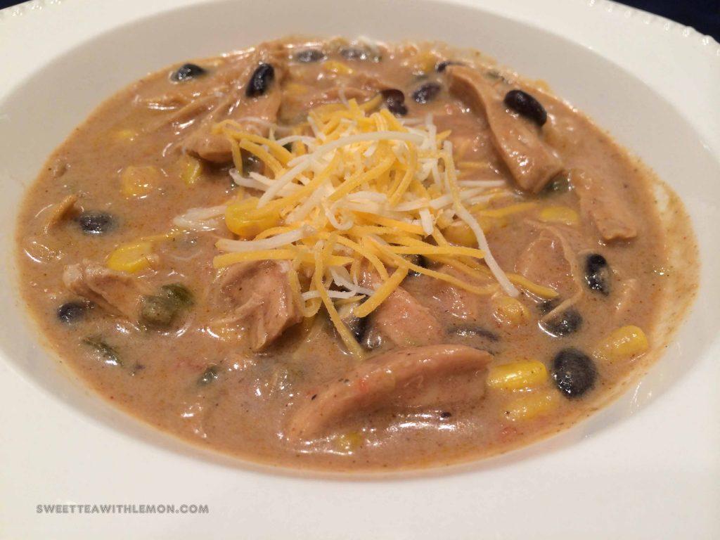 Chicken Enchilada Soup B25