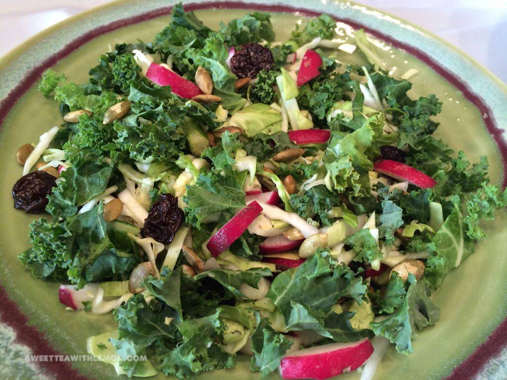 Chopped Kale Salad W10
