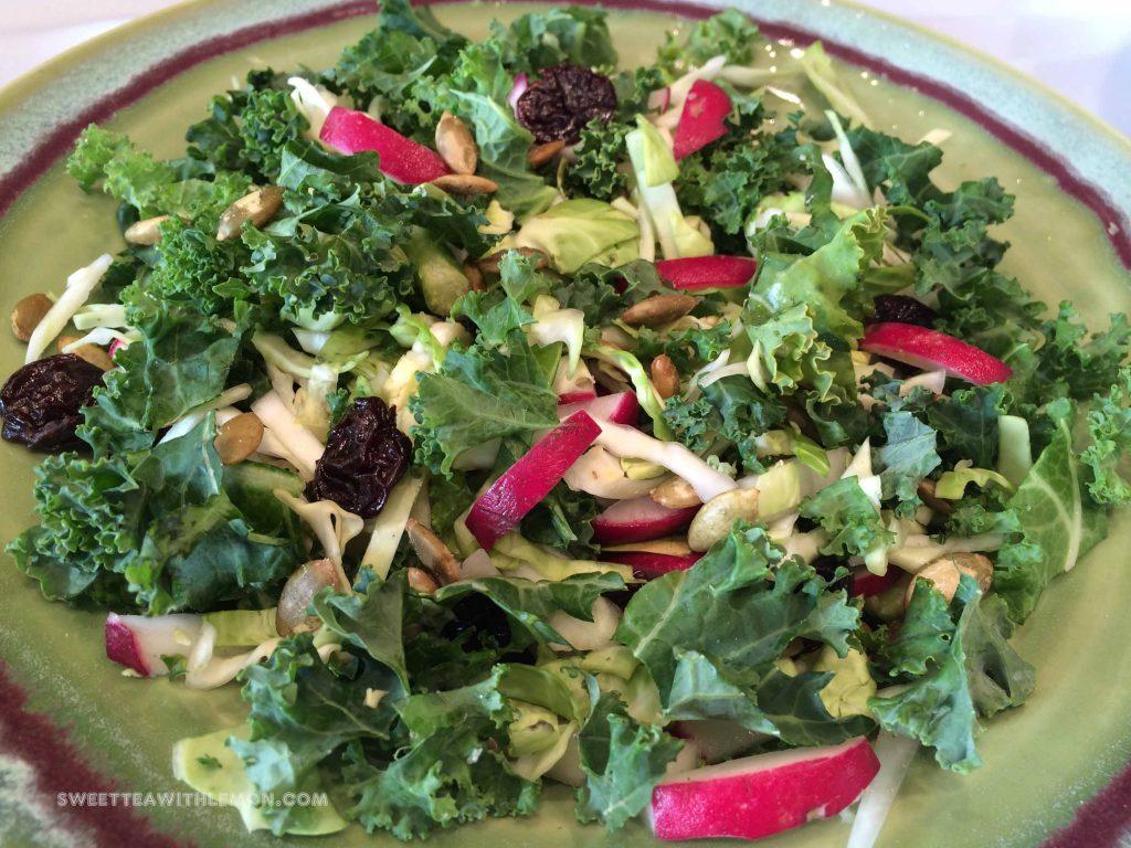 Chopped Kale Salad W11