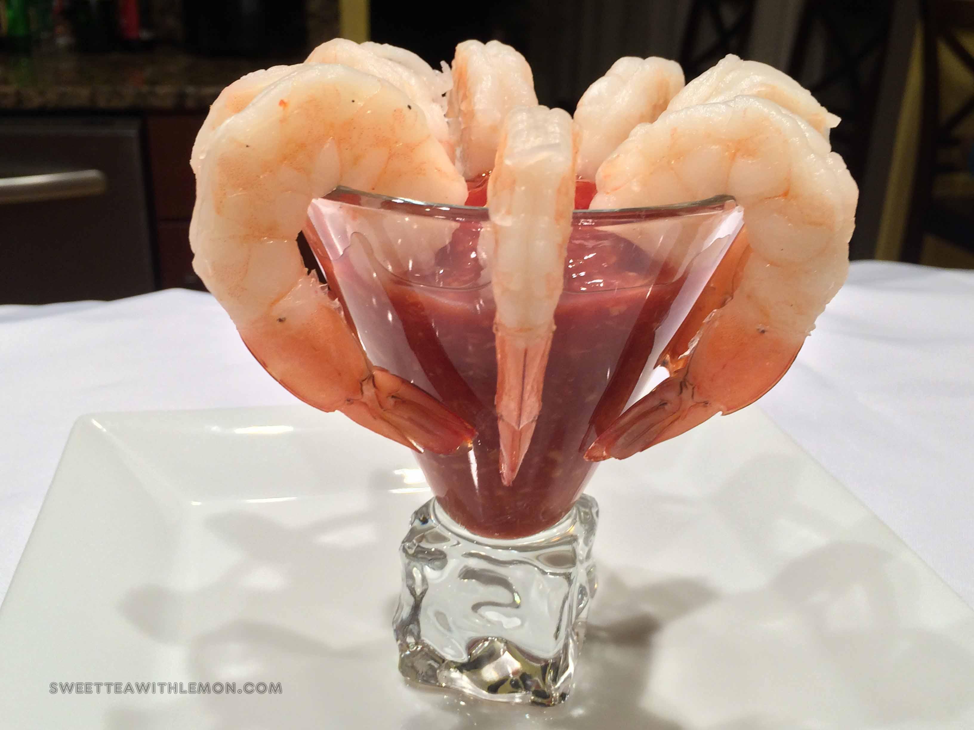 how to serve shrimp cocktail