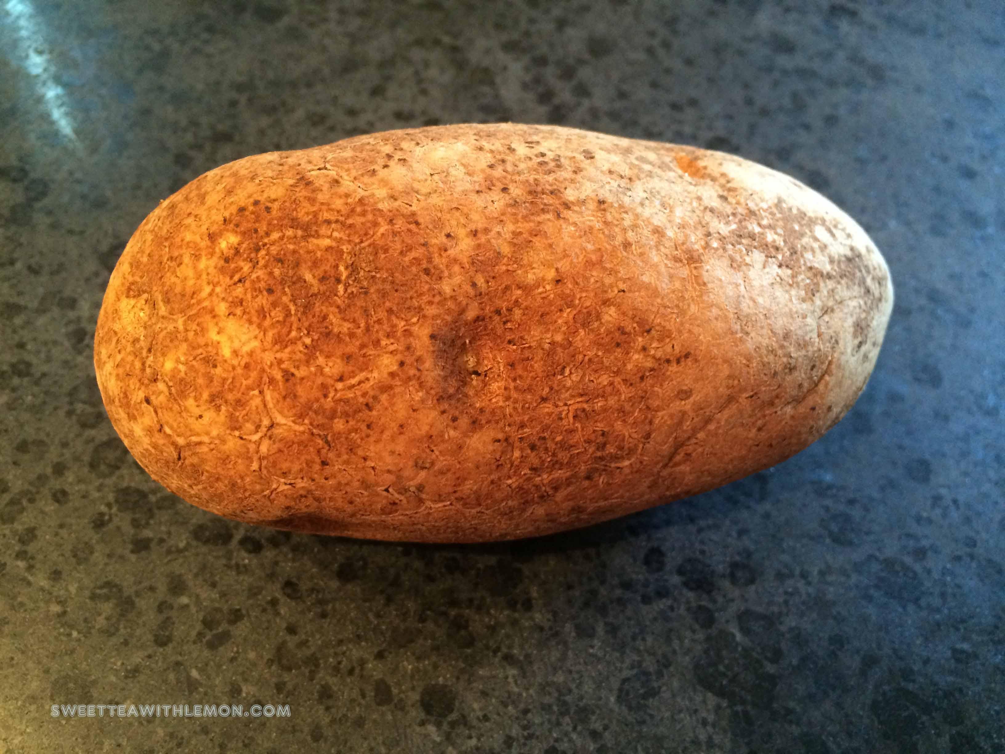 How to bake a potato