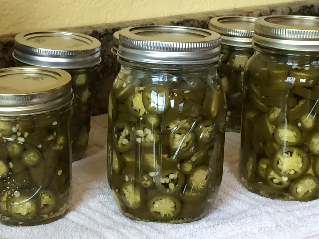 Canning Jalapenos
