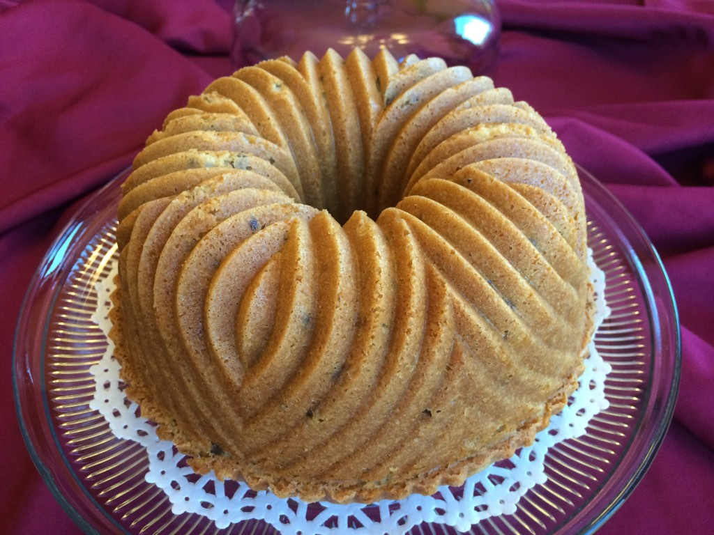Old Fashion Black Walnut Cake