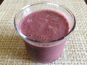 Purple Spinach Smoothie
