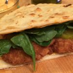 Crispy Chicken Naan Sandwich
