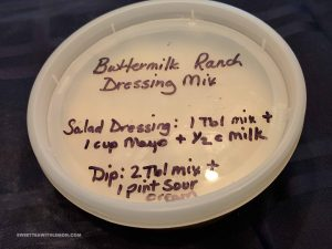 Buttermilk Ranch Dr Mix W06