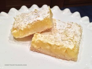 Lemon Bars B20