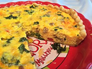 Loaded Quiche