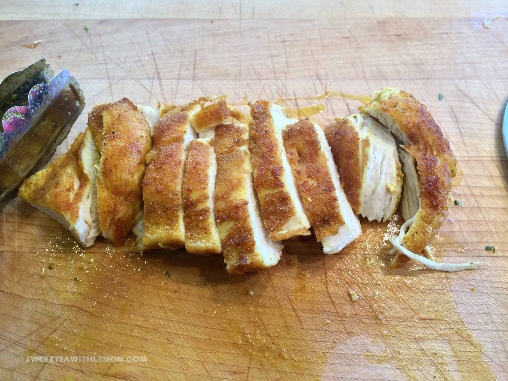 Pan Seared Indian Chicken Breasts