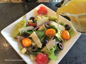 Italian Salad with Italian Salad Dressing